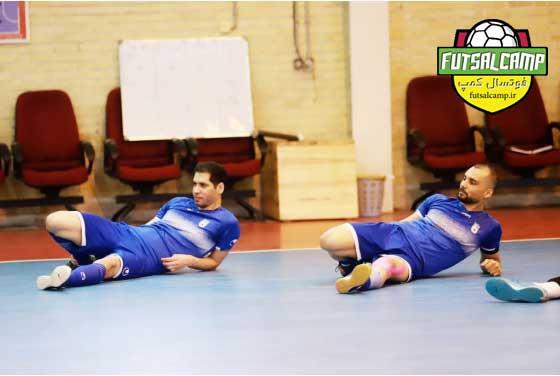 گزارش تصویری - اردو تیم ملی فوتسال ایران
