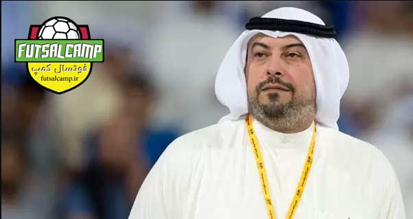 شیخ-طلال-فهد-الصباح رئیس کمیته فوتسال فدراسیون فوتبال آسیا