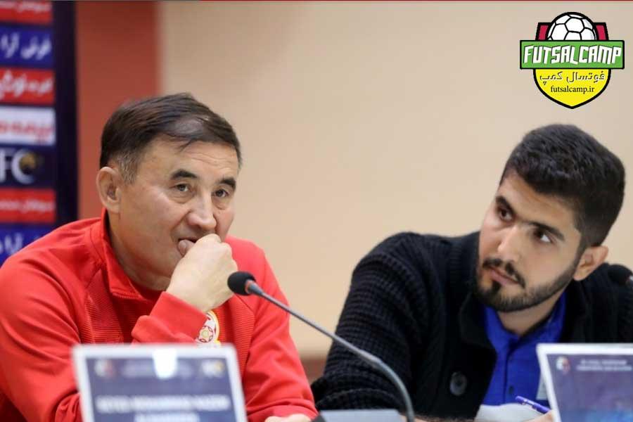سرمربی تیم ملی فوتسال قرقیزستان