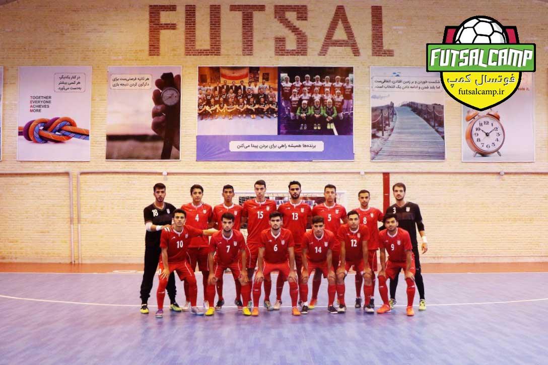39 بازیکن فوتسال زیر 20 سال در اردو انتخابی تیم ملی
