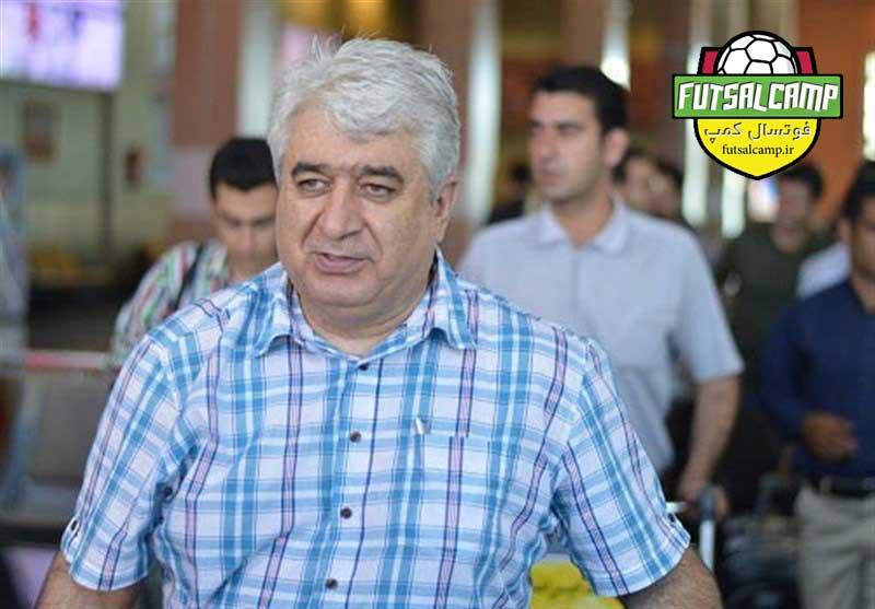 حسین شمس سرمربی سابق تیم ملی و پیشکسوت فوتسال