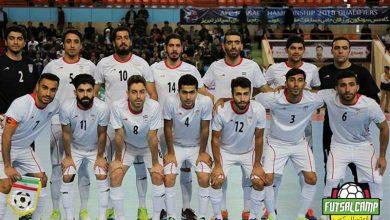 لباس تیم ملی فوتسال ایران مشخص شد