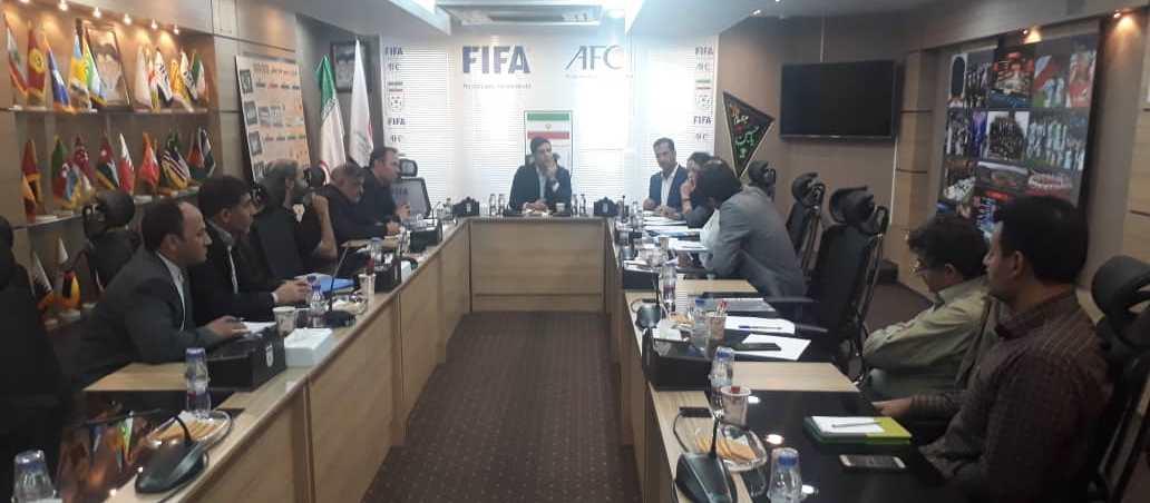 جلسه هماهنگی مسابقات مقدماتی فوتسال آسیا