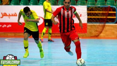 محمد کشاورز کاپیتان تیم فوتسال گیتی پسند اصفهان