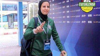 خانم آزمون سرمربی تیم ملی فوتبال ایران