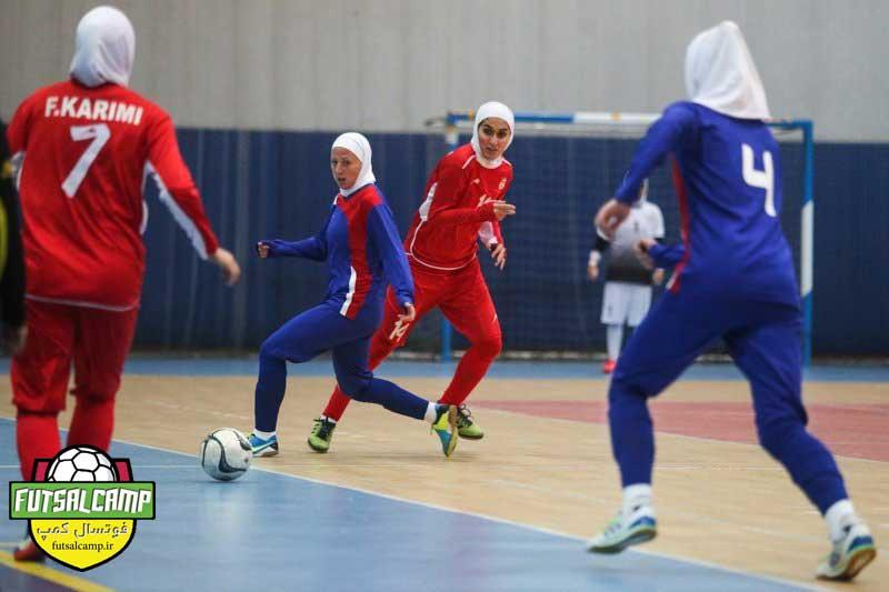برنامه 5 هفته اول دور برگشت لیگ فوتسال بانوان