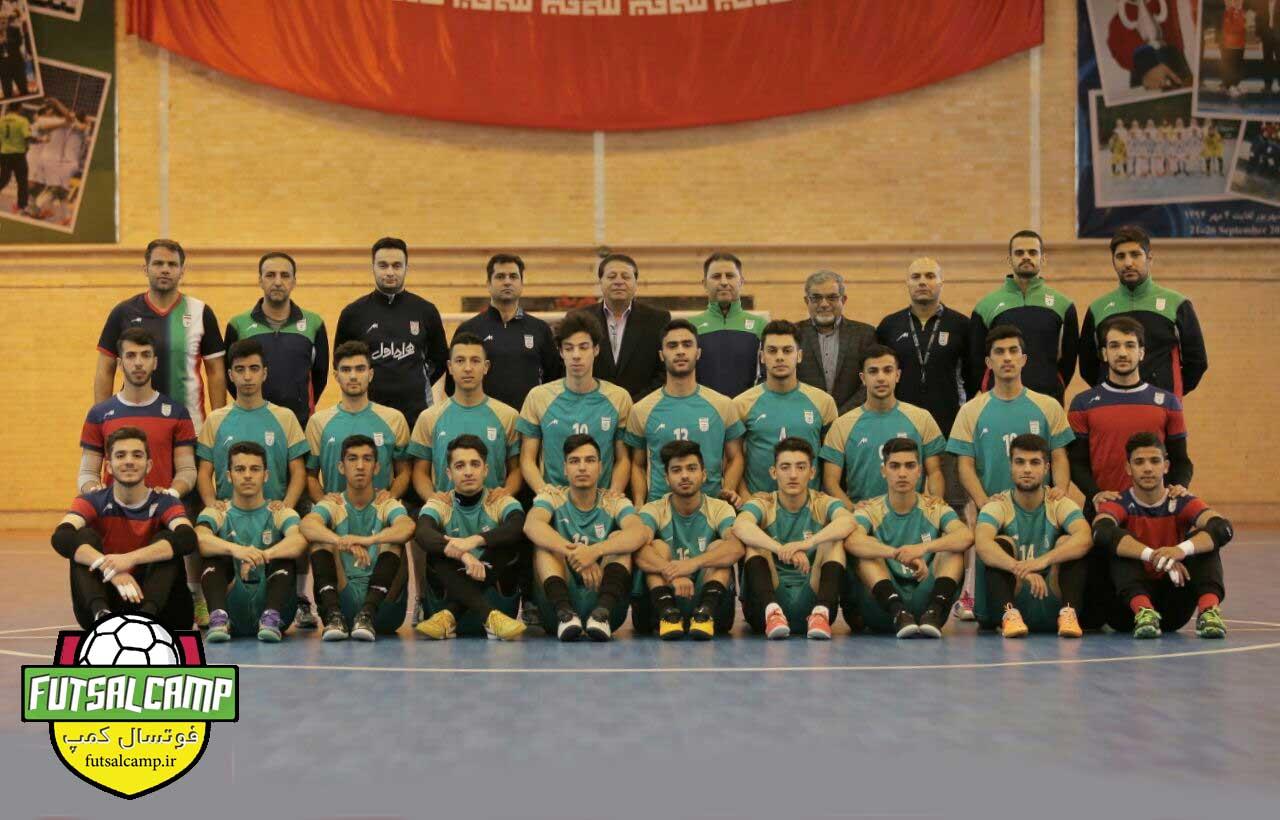 اردو تیم ملی فوتسال زیر 20 ایران
