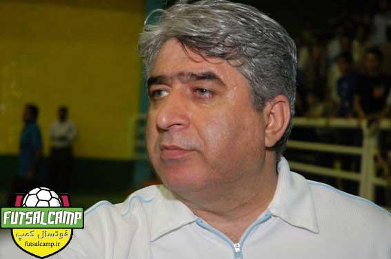 حسین شمس سرمربی سابق تیم ملی فوتسال