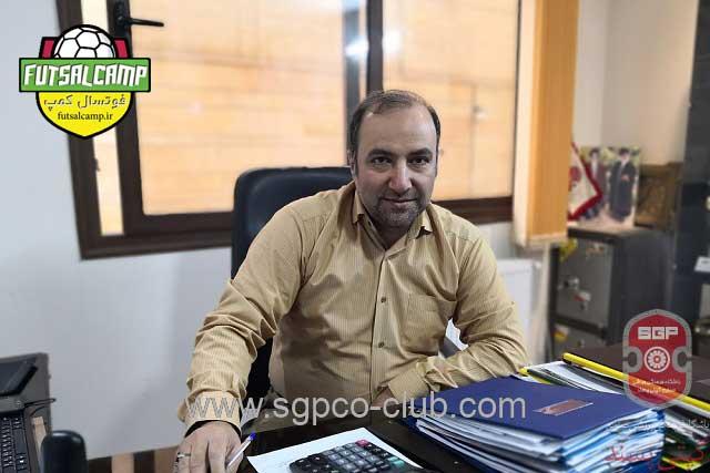 حسین عراقی قائم مقام تیم فوتسال گیتی پسند اصفهان