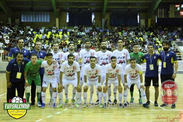 تیم فوتسال گیتی پسند اصفهان