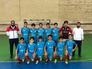 هفته اول فوتسال نونهالان تهران ؛ جشنواره گل سه تیم