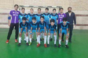 تیم فوتسال نونهالان روبوفا برترین تیم هفته سوم لیگ فوتسال نونهالان تهران
