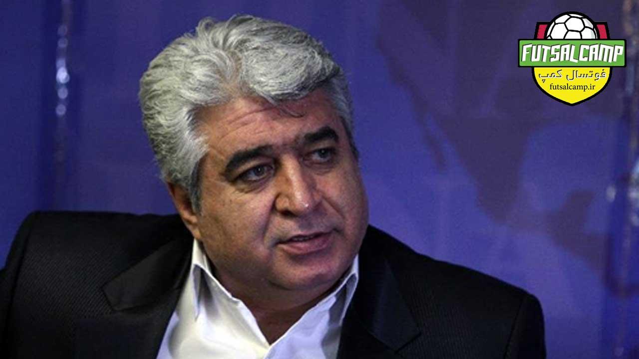 حسین شمس عضو کمیته فنی فوتسال