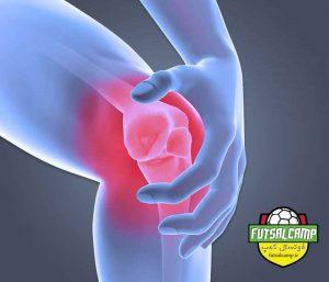 درد زانو در فوتسالیست ها و راه های رفع آن