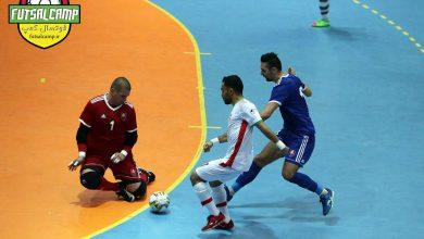 علی اصغر حسن زاده کاپیتان تیم ملی فوتسال