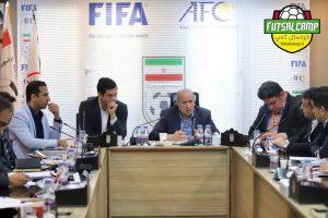 نشست هم اندیشی فدراسیون برای تیم ملی فوتسال