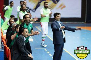 بازی تیم های ملی فوتسال ایران و اسلوواکی