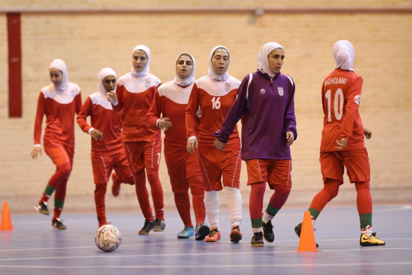 ارده آماده سازی تیم ملی فوتسال بانوان