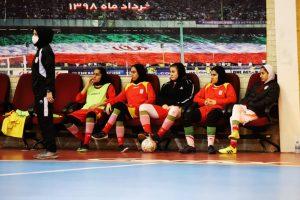 تمرینات تیم ملی فوتسال زیر 20 سال بانوان