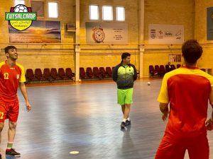 تمرینات تیم ملی فوتسال ایران