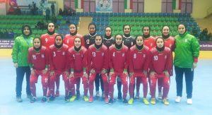 قهرمانی دختران فوتسال ایران در تورنمنت کافا