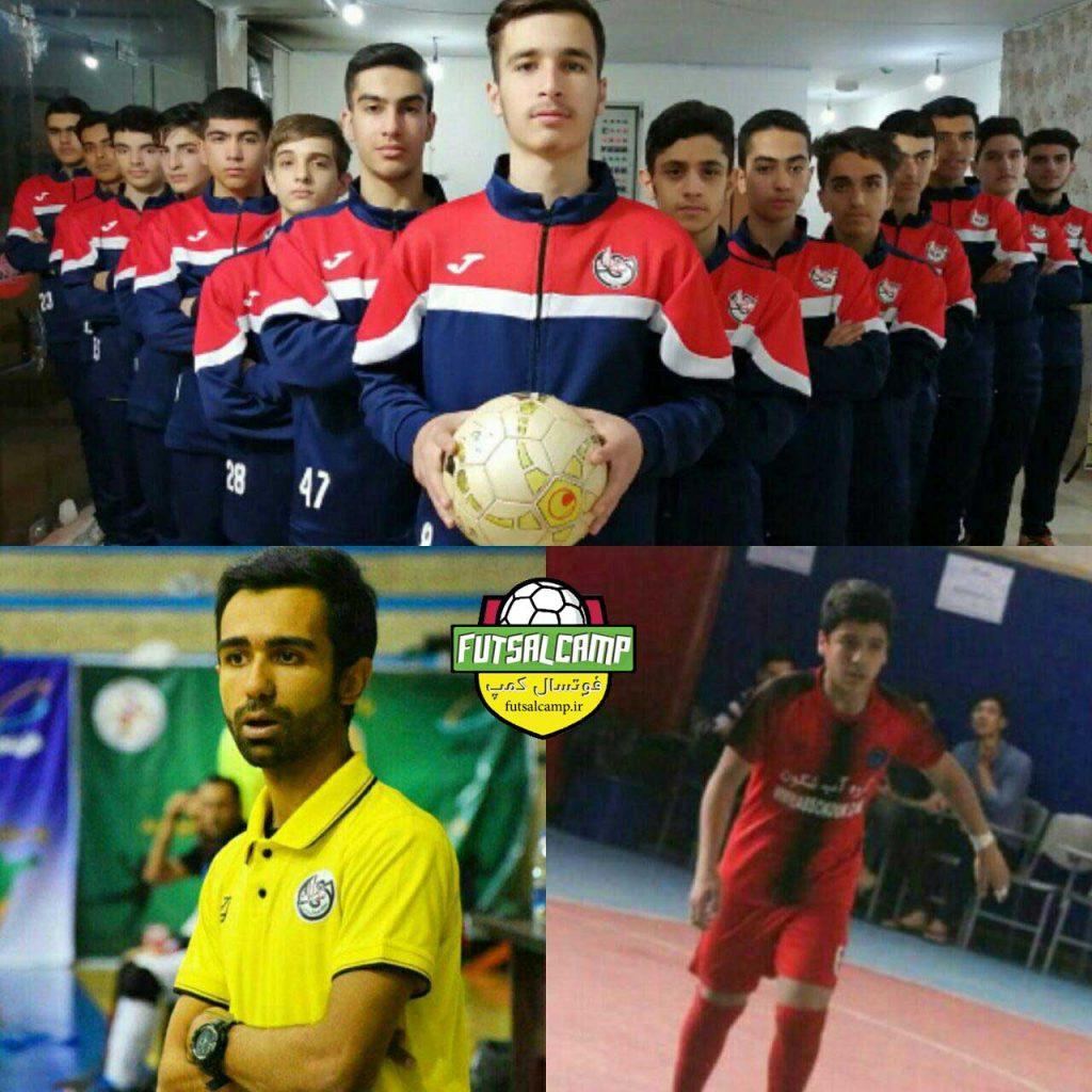 برترینهای گروه اول لیگ فوتسال نوجوانان تهران در هفته چهارم