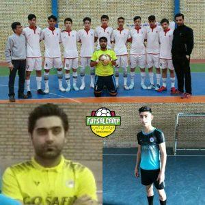برترینهای گروه دوم در هفته پنجم لیگ فوتسال نوجوانان تهران