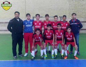 تیم برتر دور رفت مرحله یک چهارم لیگ فوتسال نونهالان تهران