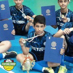 امیرمحمد احمدی از تیم فوتسال نونهالان روبوفا