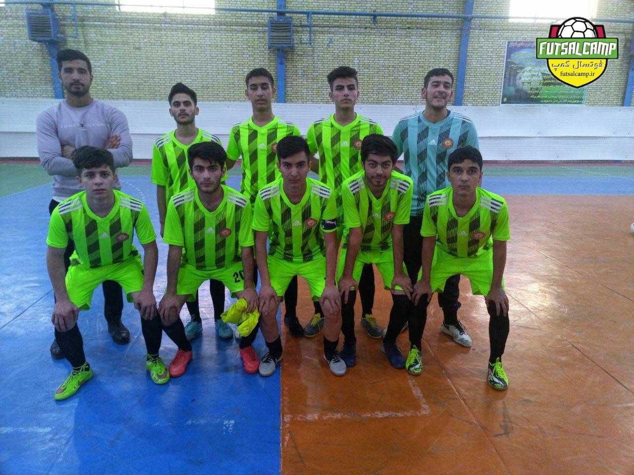 نتایج هفته نهم لیگ فوتسال نوجوانان تهران