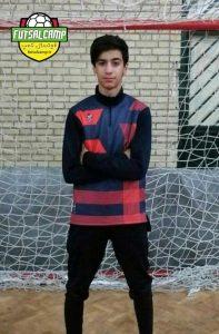 برترین بازیکن لیگ فوتسال نوجوانان در هفته هشتم از گروه اول