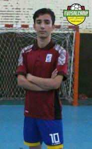 برترین بازیکن لیگ فوتسال نوجوانان در هفته هشتم از گروه دوم